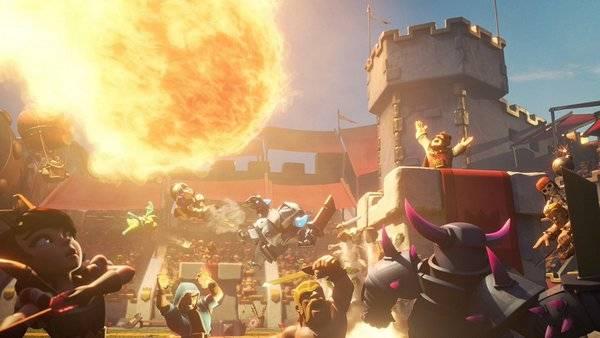 арены в clash royale