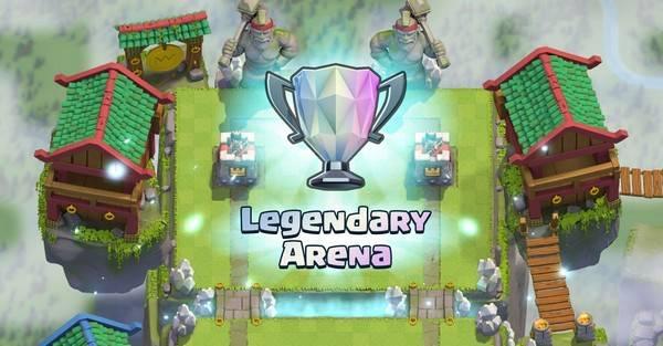 легендарная арена clash royale