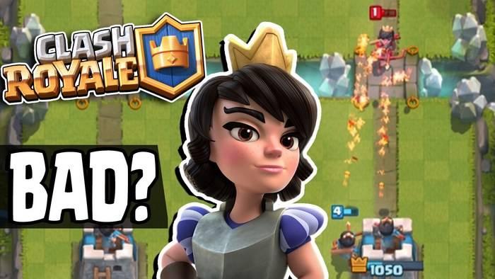 принцесса в clash royale