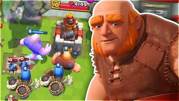 гигант clash royale