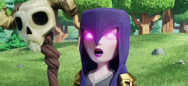 ведьма clash royale