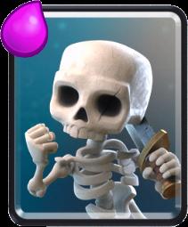 скелеты clash royale