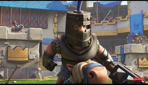 тёмный рыцарь в игре clash royale