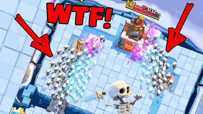 скелеты в игре clash royale
