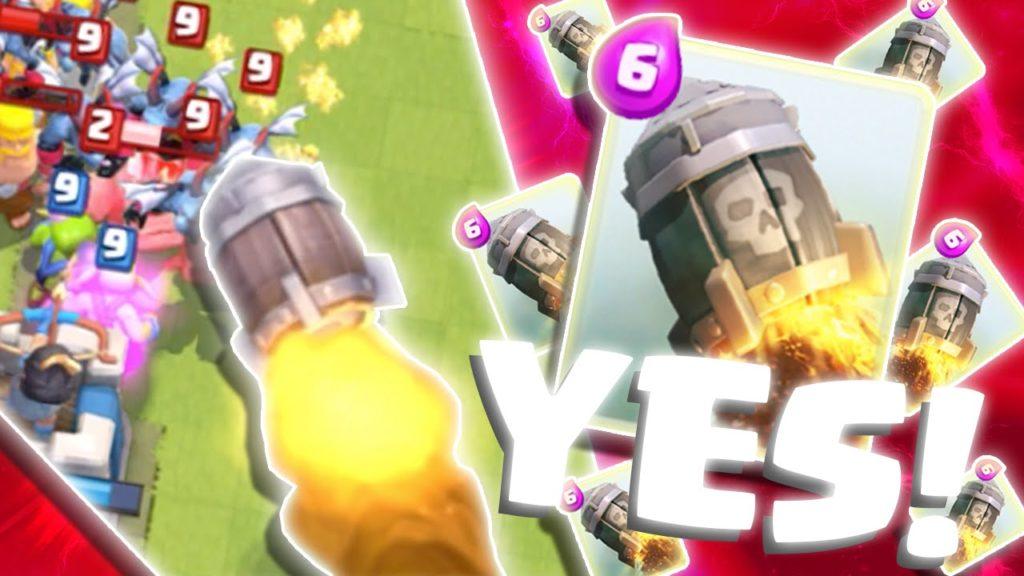 ракета в игре clash royale
