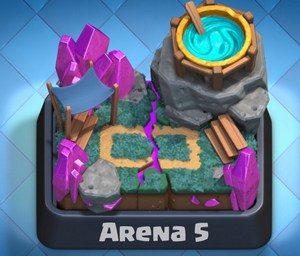 5 арена clash royale