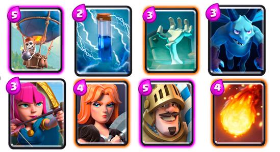 карты для 5 арены clash royale