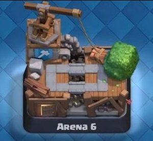 6 арена clash royale
