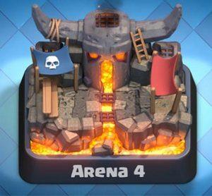 4 арена clash royale