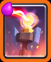 адская башня clash royale