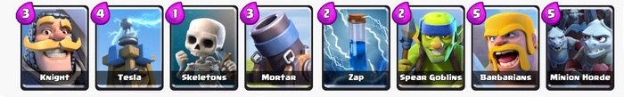 карты для clash royale
